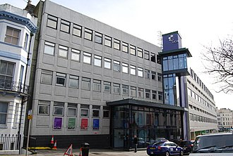 University of Brighton - The University building in Hastings, formerly University Centre Hastings