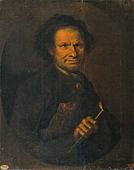 Portrait of a Man with a Pipe in Hand