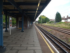 Upney tube station - Image: Upney station eastbound
