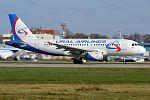Ural Airlines, VP-BJV, Airbus A319-112 (31417136495).jpg