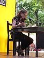 Ursula März auf dem Erlanger Poetenfest 2015.JPG