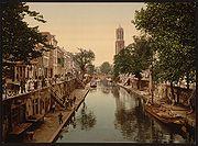 Utrecht Oude Gracht Hamburgerbrug (LOC)