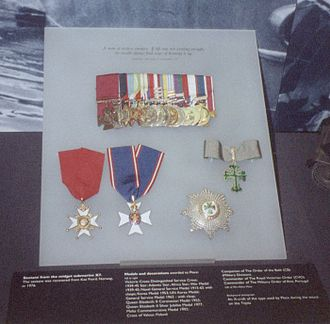 Godfrey Place - His Medal Collection at the Imperial War Museum