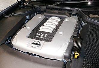 Nissan VK engine - VK45DE