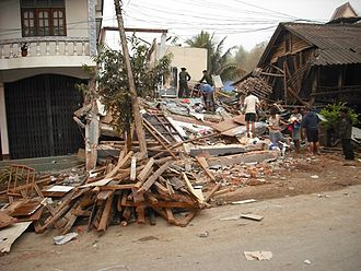2011 Myanmar earthquake - The earthquake destroyed dozens of houses in Shan State