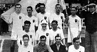 History of Valencia CF - Valencia CF squad in 1931.