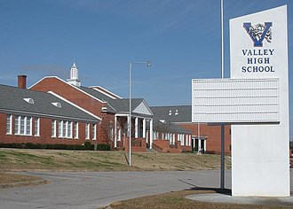 Valley, Alabama - Image: Valley High School Valley Alabama