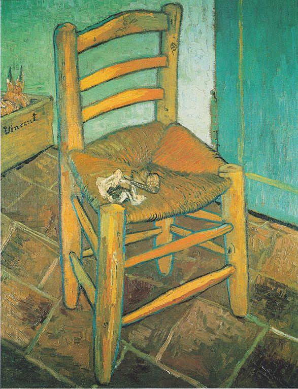 File Van Gogh Vicents Stuhl Mit Pfeife Wikimedia