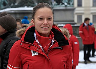 Vanessa Herzog speed skater from Austria