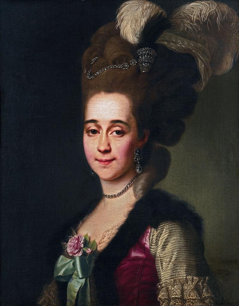 Художник Д. Г. Левицкий (1779)