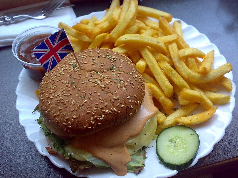 File:Veggie burger with feta flickr user moe creative commons.jpg