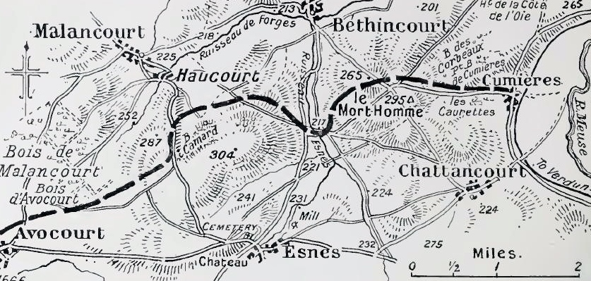 Verdun and vicinity, May 1916