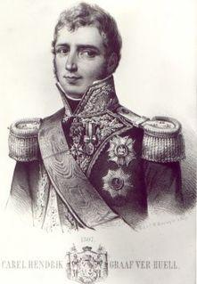 Carel Hendrik Ver Huell Dutch admiral