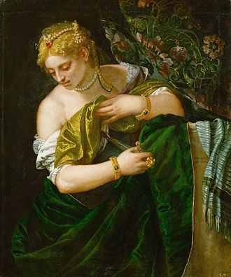 Lucretia (Veronese) - Image: Veronese.Lucretia 01