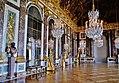 Versailles Château de Versailles Innen Grande Galerie 16.jpg