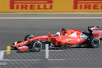 2015 Hungarian Grand Prix - Sebastian Vettel won his second race of the season.