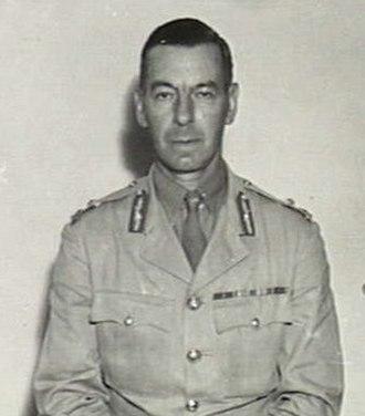 Victor Stantke - Major General Victor Stantke in January 1944