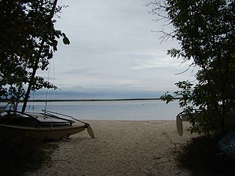 Rural Municipality of Victoria Beach - Image: Victoria Beach in Lake Winnipeg Manitoba Canada (2)