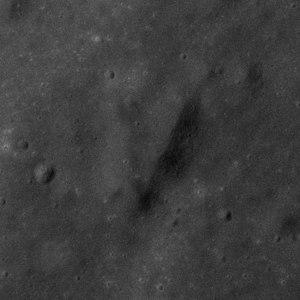 Victory (crater) - Apollo 17 panoramic camera image