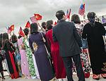 Vietnam Communist Party leaders arrives at Joint Base Andrews, to meet President Obama 150706-F-WU507-254.jpg