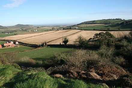 Countryside south of Portlaoise. ViewFromDunamase.JPG