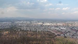 Cerro de la Estrella National Park - Hilltop view of Mexico City from the park.