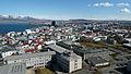 View from Hallgrímskirkja, Reykjavik (7115816875).jpg