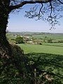View from the lane from Liddaton Down - geograph.org.uk - 428918.jpg