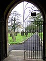 View from the porch gate, St Michael's Church, Bempton - geograph.org.uk - 604553.jpg
