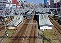 View from top to Settsu-Motoyama Station.jpg