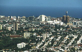 Eastern Suburbs (Sydney) - Image: View of Bondi Junction, New South Wales from Centrepoint Tower East 0036