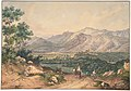 View of Lebanon, after an English Engraving and an Italianate motif of the Sabiner Mountains MET DP804170.jpg