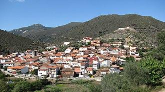 Valero, Salamanca - Image: View of Valero