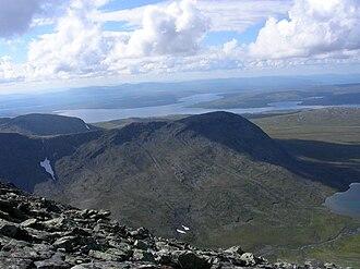 Tydal - View from Sylan towards Nesjøen