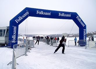 Vikingarännet - Vikingarännet 2010 finishing line in Stockholm