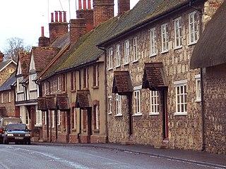 Berwick St James village in the United Kingdom