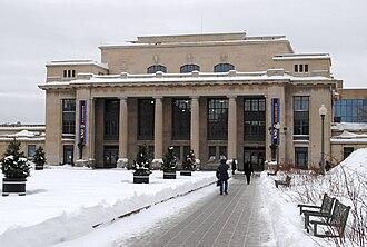 Villeray–Saint-Michel–Parc-Extension - Former Park Avenue train station (Gare Jean-Talon)