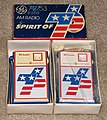 "Vintage GE (General Electric) ""Spirit of 76"" Bicentennial Transistor Radios, Model P2753 (8319318208).jpg"