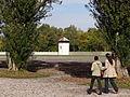 Visitors Walk through Memorial Site - Dachau Concentration Camp Site - Dachau - Bavaria - Germany.jpg