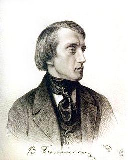 Vissarion Belinsky Russian literary critic