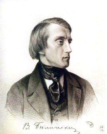 Vissarion Belinsky by K Gorbunov 1843