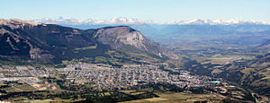 Coyhaique - Panoramic view of the city