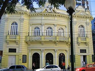 Espírito Santo - Carlos Gomes Theatre, in Vitória.