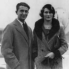 Vladimir Golschmann and wife.jpg
