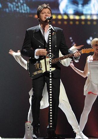 """Vlatko Ilievski - Vlatko Ilievski performing """"Rusinka"""" for Macedonia on the Eurovision Song Contest 2011"""