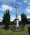 Vyšní Lhoty, kříž na křižovatce U kříže (1).JPG