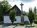 Vyšní Lhoty, kříž na křižovatce U kříže (3).JPG
