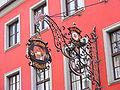 Würzburg - Weinhaus Schnabel (Schild).JPG