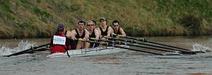 The Welsh Boat Race - Cardiff University Men's Senior eight in 2006