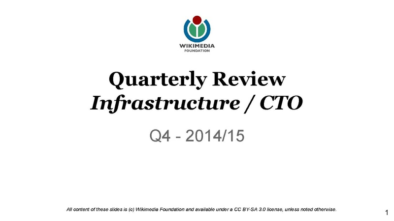 File:WMF Infrastructure-CTO Quarterly Review Q4 2014-15.pdf